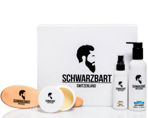 BARTPFLEGESET SCHWARZBART GESCHENK-SET