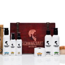 Bartpflegeset Schwarzbart Professional-Set