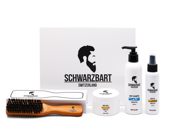 Image of BARTPFLEGE SET SCHWARZBART GESCHENK-SET